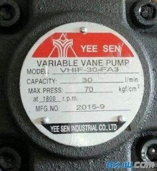 YEESEN镒圣油泵临汾供应=型号说明