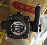 延边供应台湾ELITE艾力特叶片泵低压变量叶片泵√厂价销售+现货