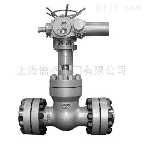 电动高压平板闸阀-上海儒柯