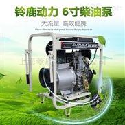 物业防台风暴雨用6寸柴油机防汛泵SHL60CP