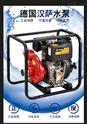 上海防汛4寸柴油高压水泵HS40PIE