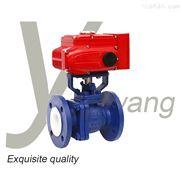 Q941F4-电动衬氟球阀电动头产品优势防酸碱