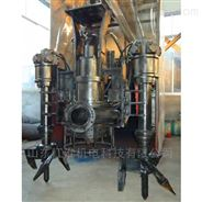神奇的鉸刀潛水渣漿泵 液壓耐磨泥漿泵