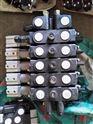 多路阀气控手动液压分配器中梅液压件程力