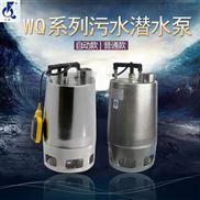 浙江丰球便携移动式不锈钢污水潜水电泵WQ-1.1BS