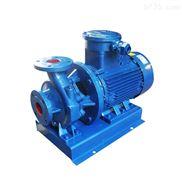 广泉牌清水泵 ISW系列卧式单级泵
