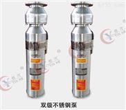边立式多级铸铁喷泉专用泵QSPF不锈钢潜水泵