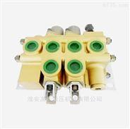 2路流量100L液压手动分配器多路换向阀