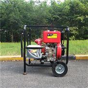 手推式单缸柴油机高压泵组