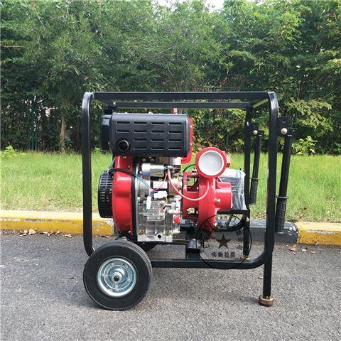 消防備用3寸柴油機自吸泵組